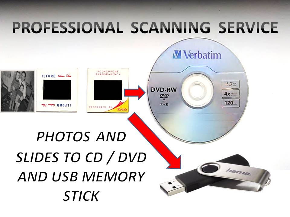PROFESSIONAL PHOTO AND SLIDE SCANNING SERVICE